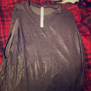 Lululemon Shine Brunswick muscle tank soul cycle